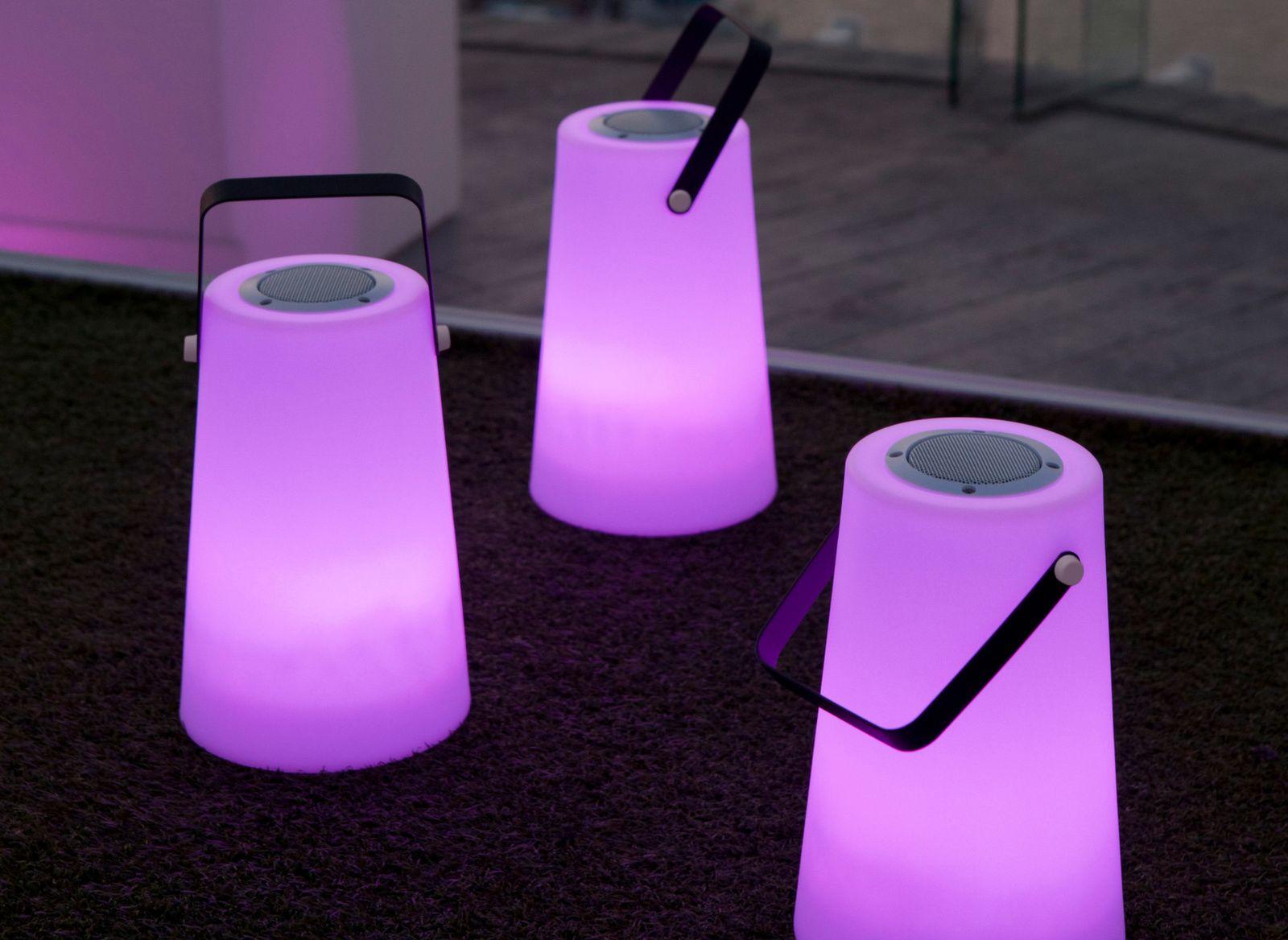Lampe haut-parleur Nomada Play