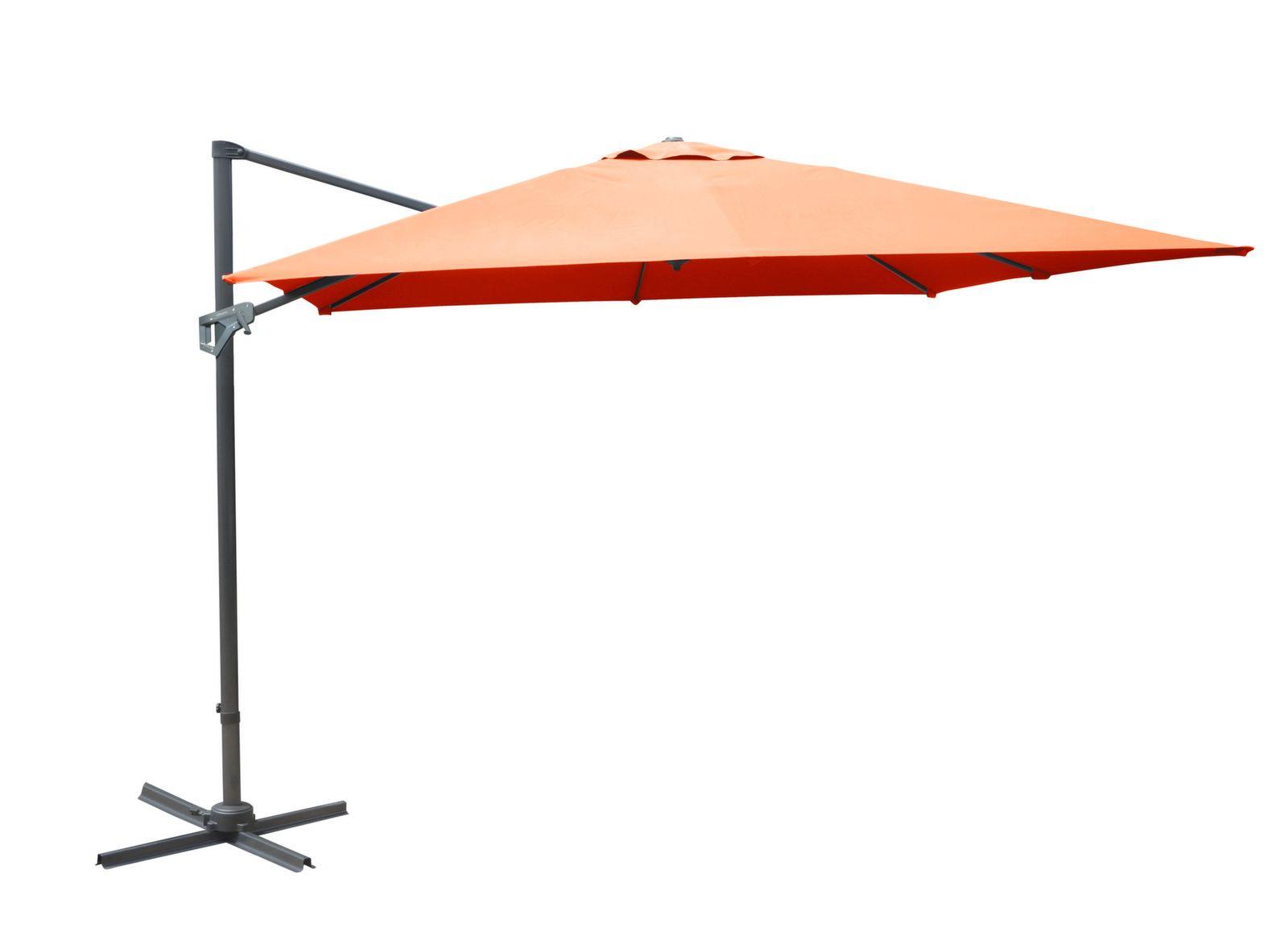 Parasol déporté NH 3 x 3 m