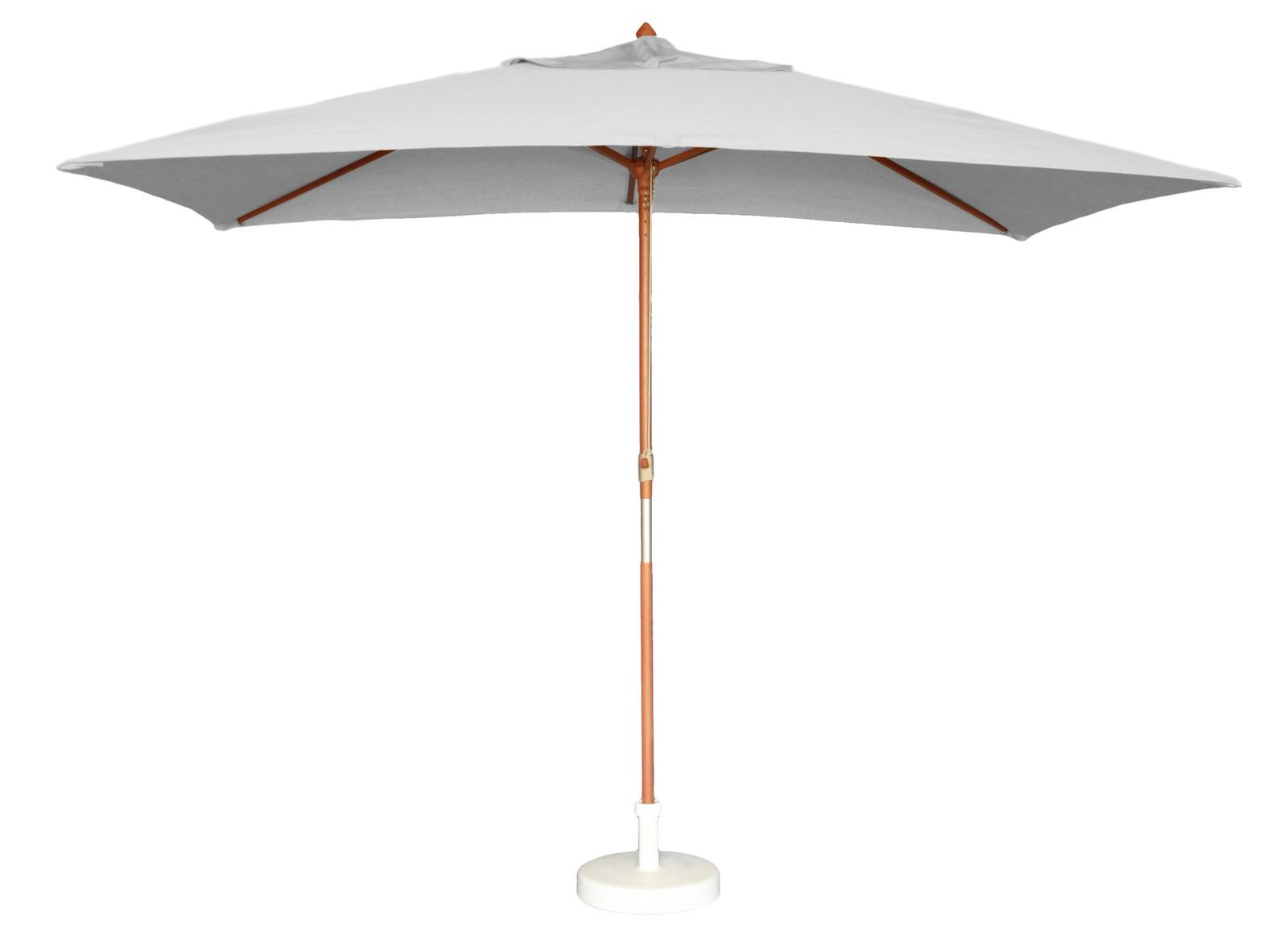 Housse pour parasol rectangle 3x2 3x4m gris proloisirs for Housse pour parasol
