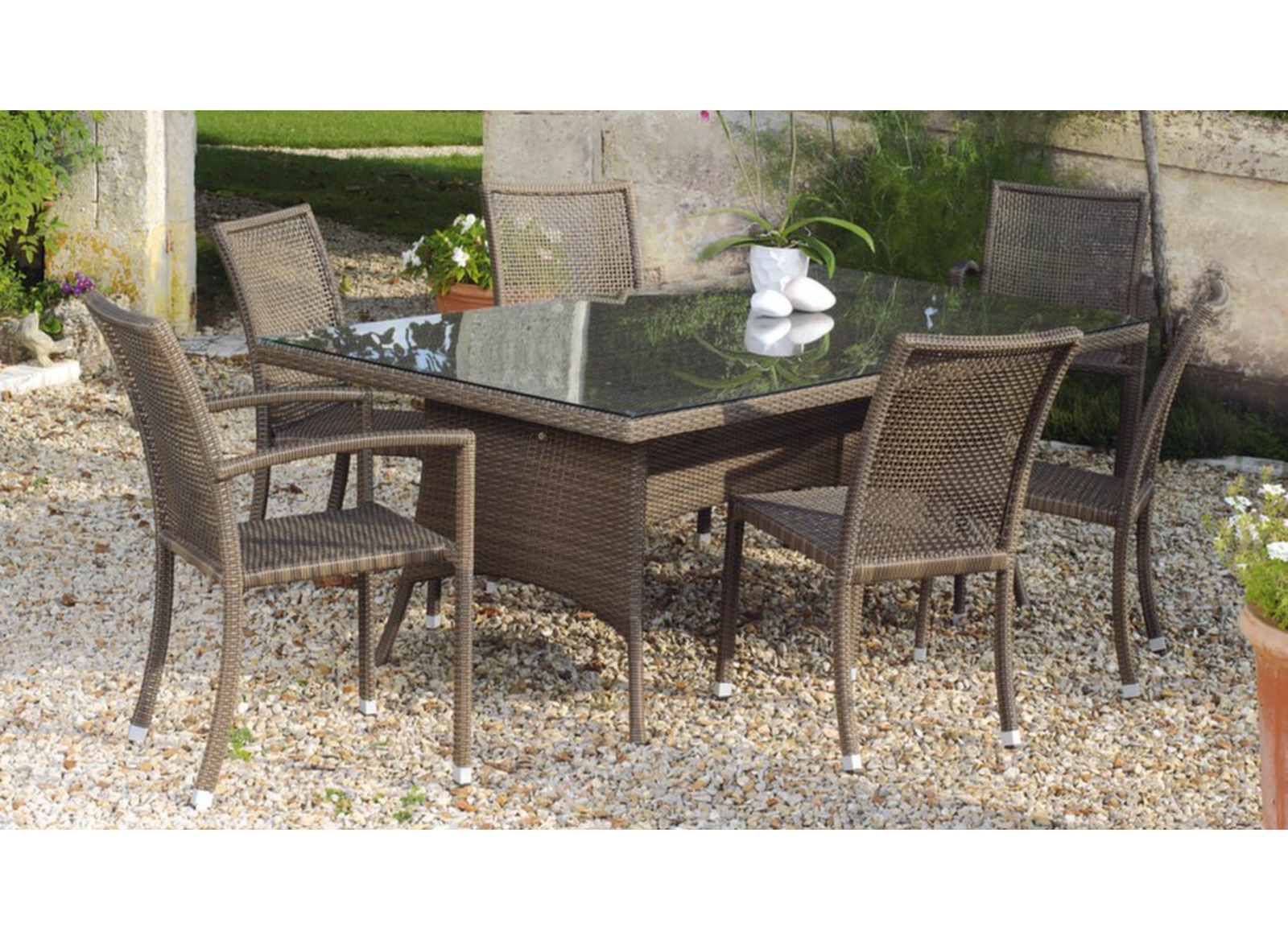 Table Ouso 200 X 110 Cm Alu R Sine Tress E Tables De