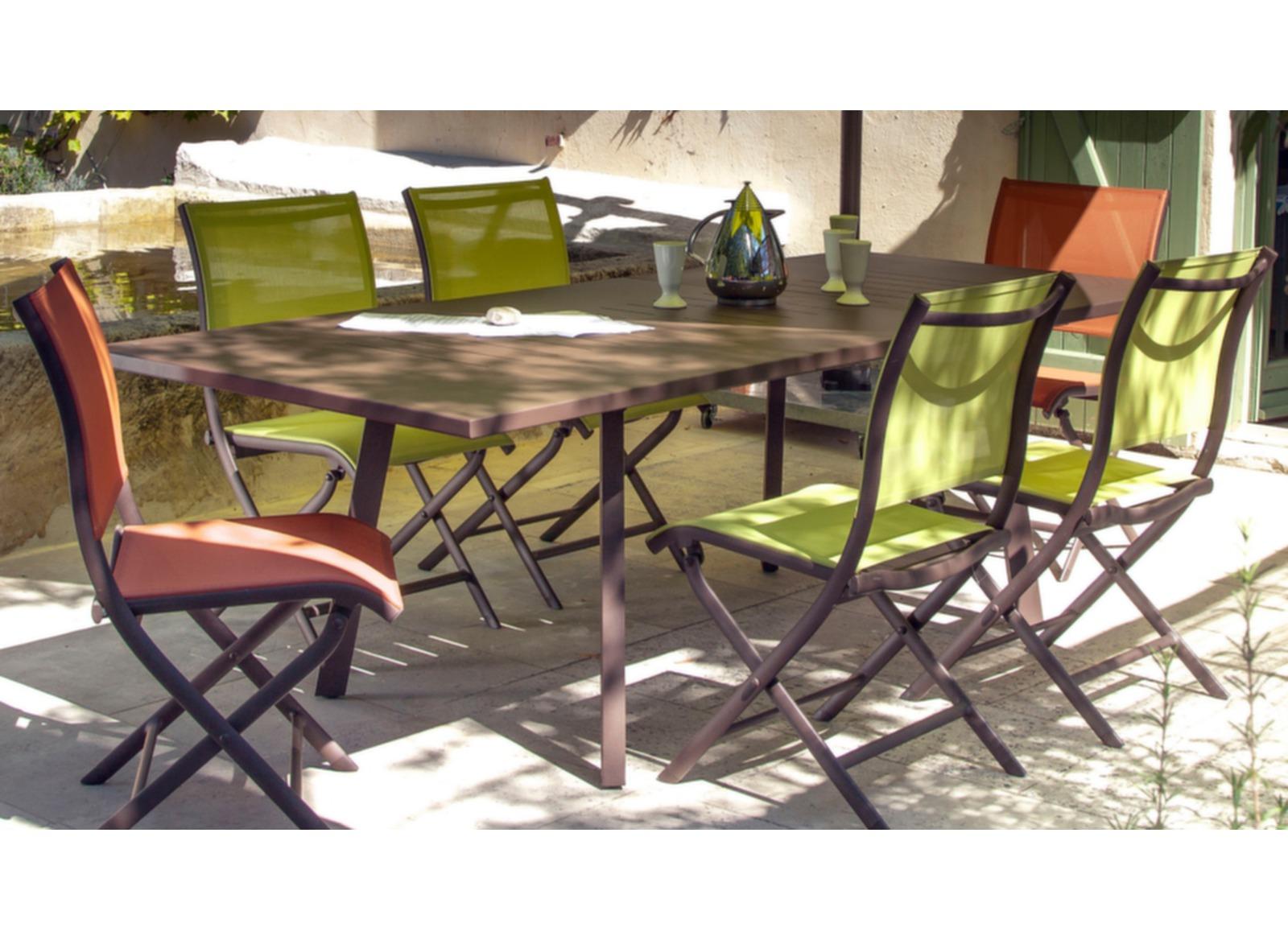 Table Barcelona 220/300 cm
