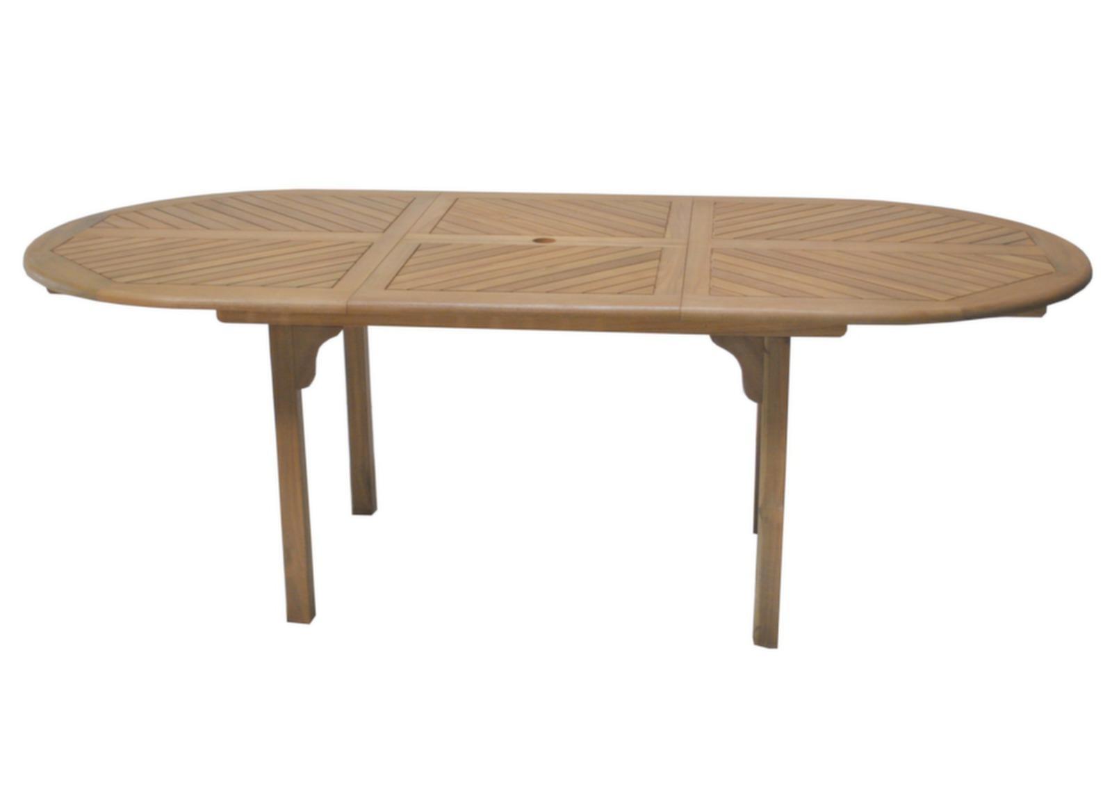 Salon de jardin table Durban + 6 chaises pliantes - Proloisirs