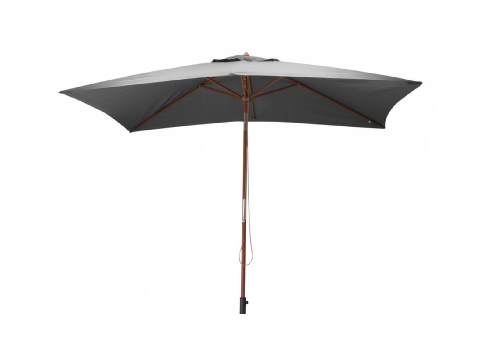 parasol bois rectangulaire 3x2m mobilier de jardin proloisirs. Black Bedroom Furniture Sets. Home Design Ideas