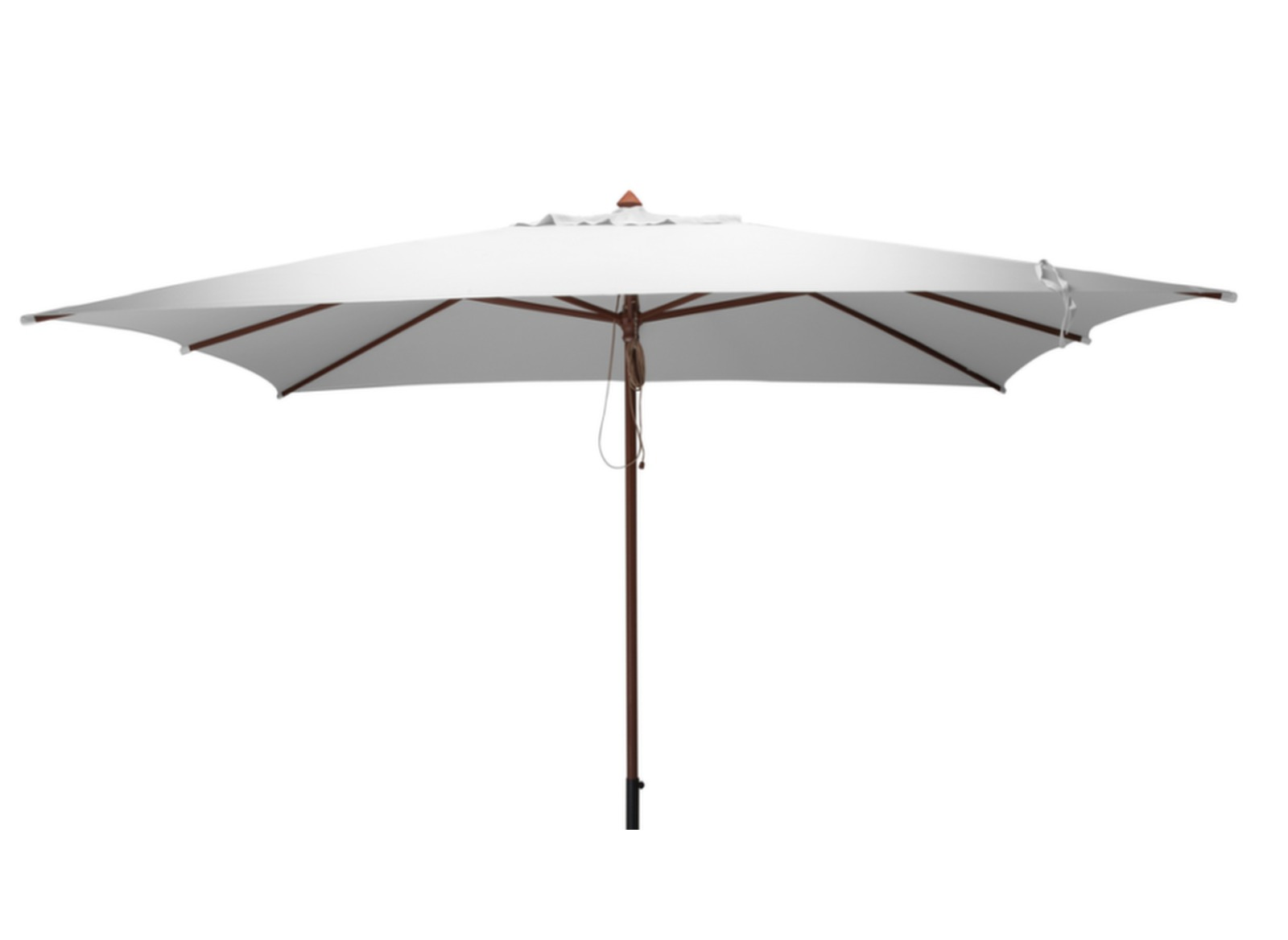 parasol rectangulaire en bois 3x4m mobilier de jardin proloisirs. Black Bedroom Furniture Sets. Home Design Ideas