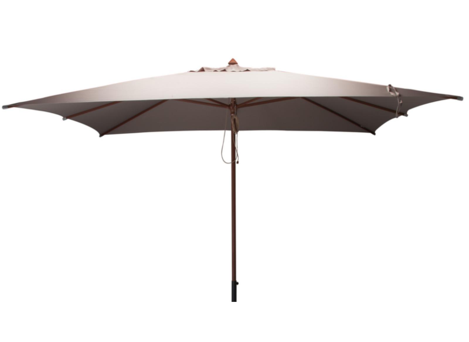 Parasol rectangulaire en bois 3x4m   Mobilier de jardin   Proloisirs