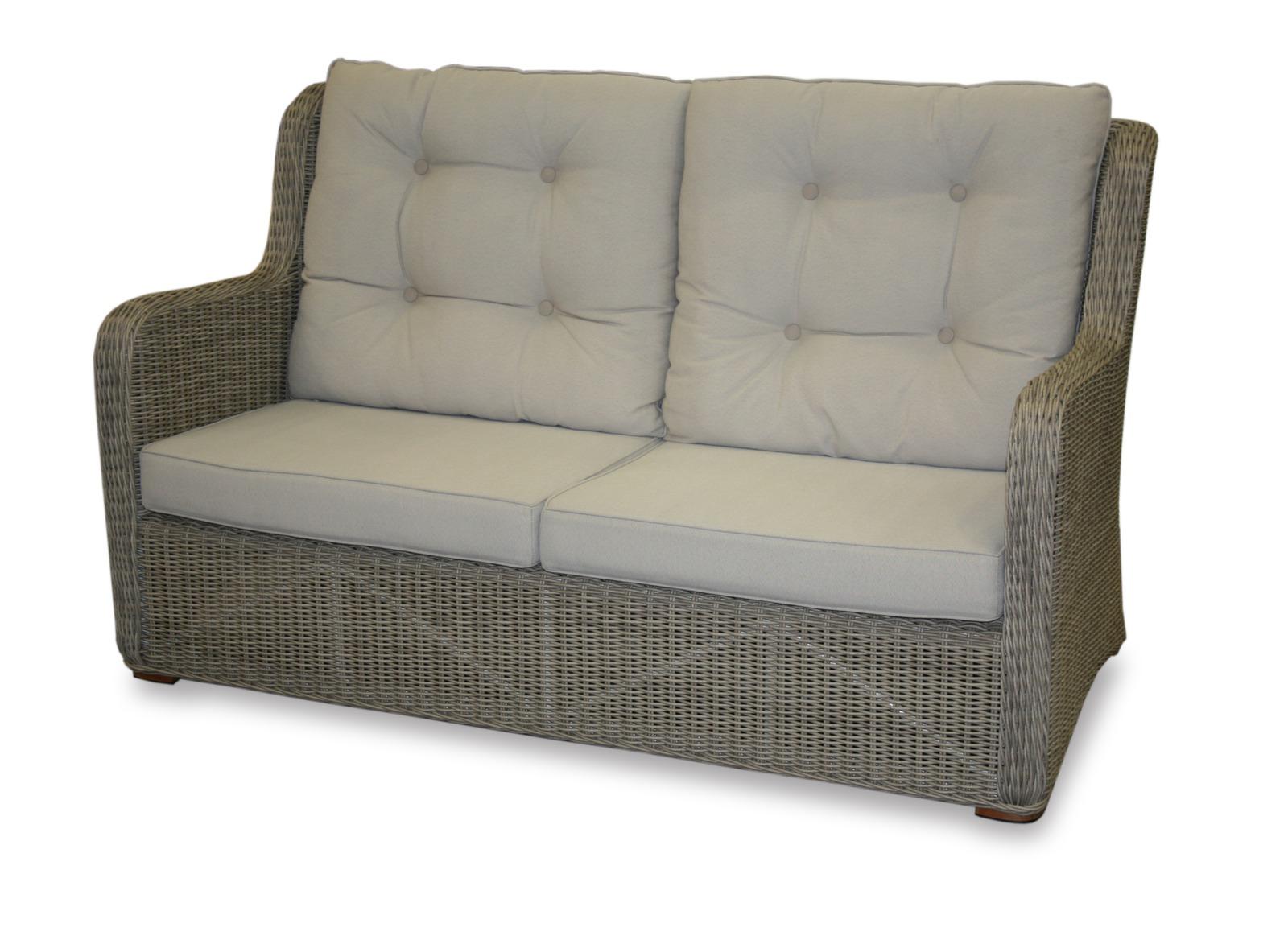 canap massimo 2p white wash achat canap de jardin mobilier pour salon de jardin. Black Bedroom Furniture Sets. Home Design Ideas
