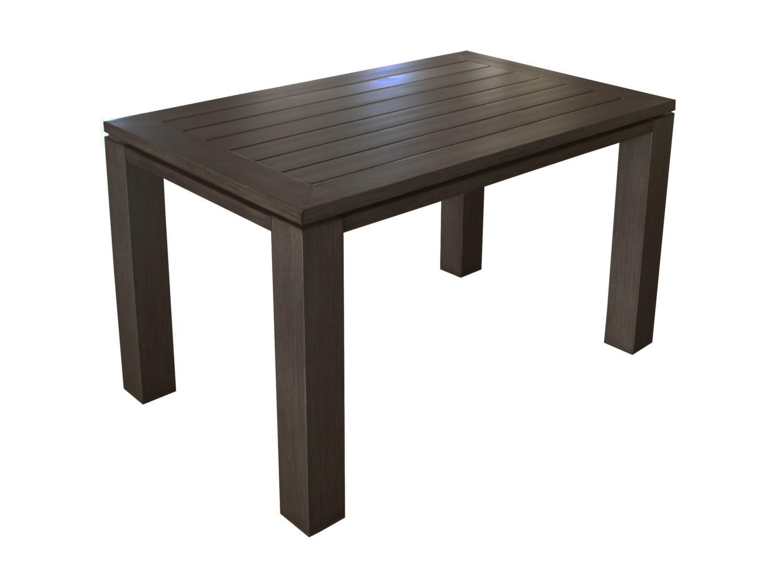soldes table de jardin latino 120cm oc o proloisirs. Black Bedroom Furniture Sets. Home Design Ideas