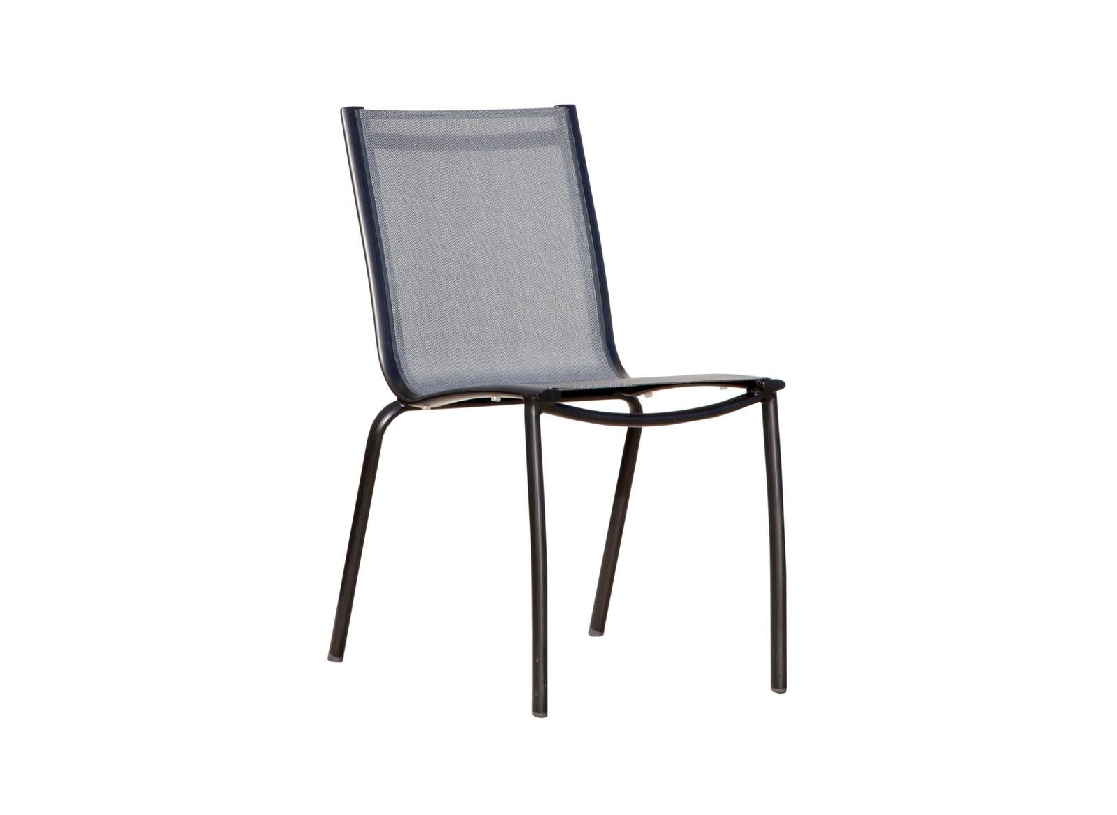 Chaise empilable Linéa (finition brush)
