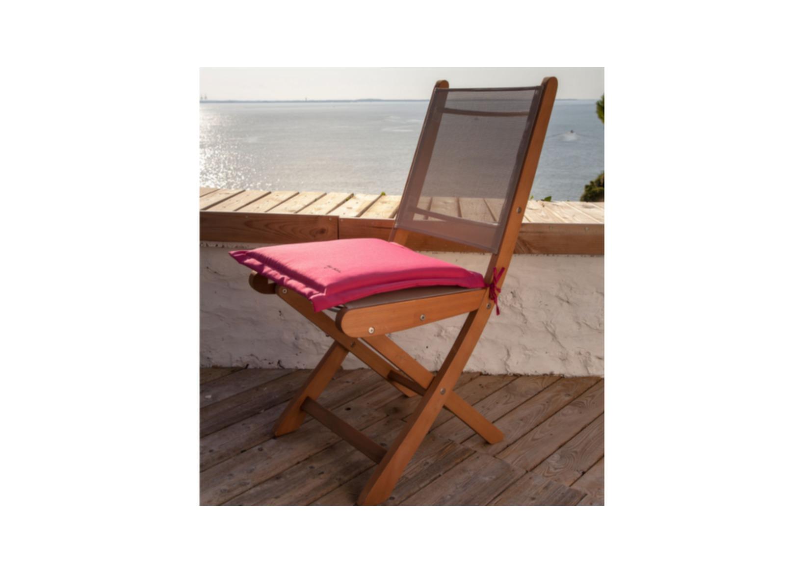 Coussin garden pour chaises de jardin proloisirs - Coussins de chaises dehoussables ...