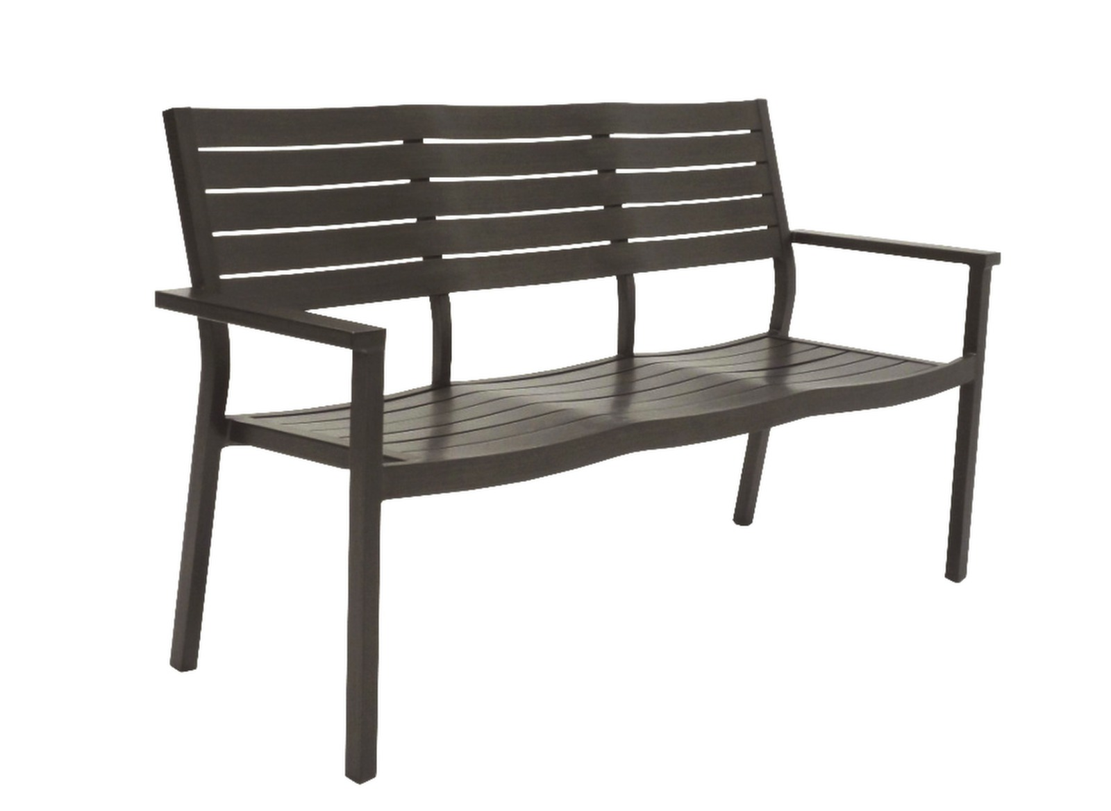 banc de jardin aluminium 3 places latino oc o. Black Bedroom Furniture Sets. Home Design Ideas