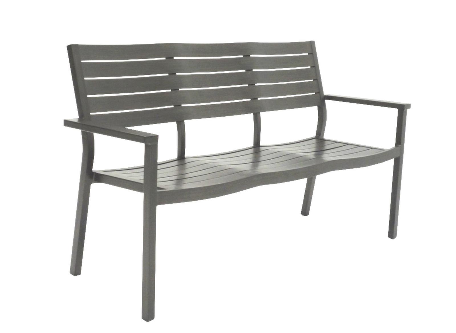 banc de jardin aluminium 3 places latino oc o proloisirs. Black Bedroom Furniture Sets. Home Design Ideas