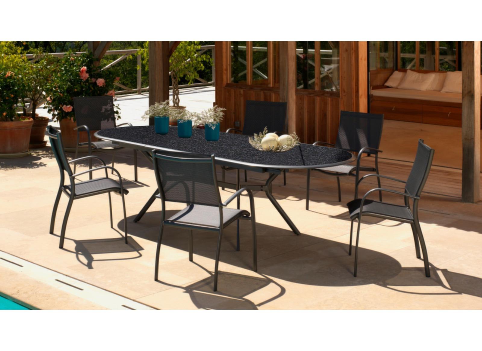 mobilier de jardin haut de gamme photos de conception de maison. Black Bedroom Furniture Sets. Home Design Ideas