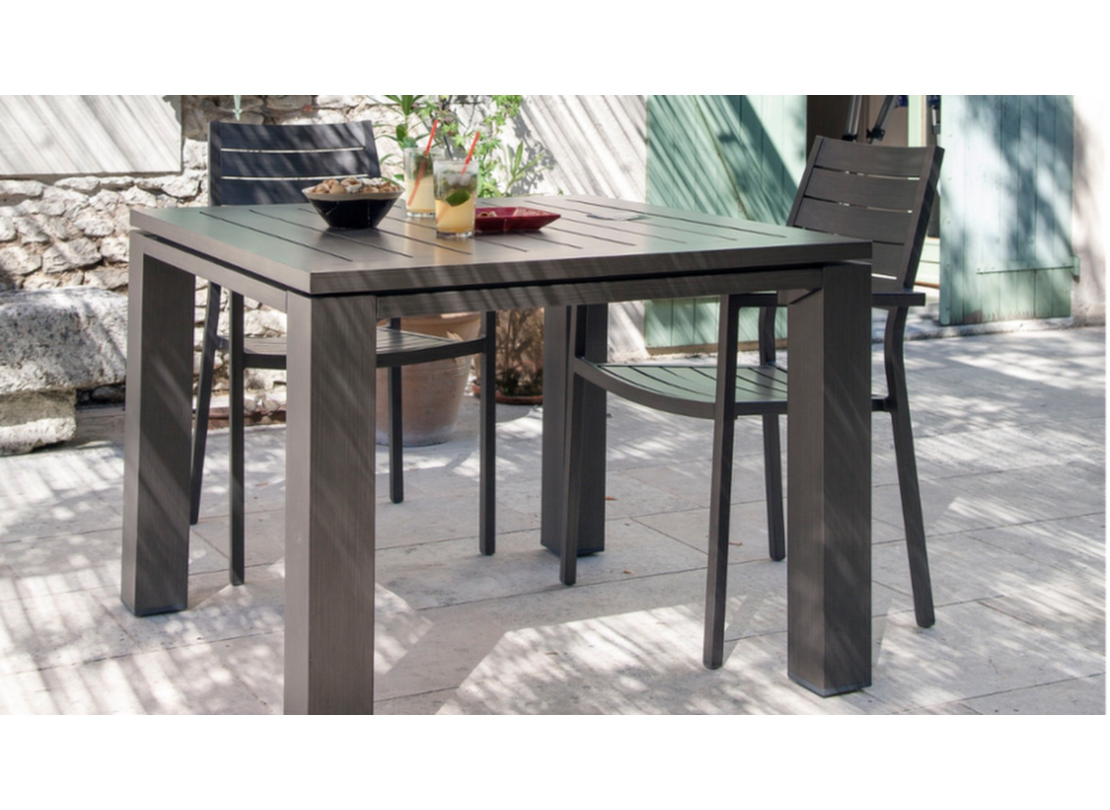 table latino 78 ice tables de jardin meubles de jardin