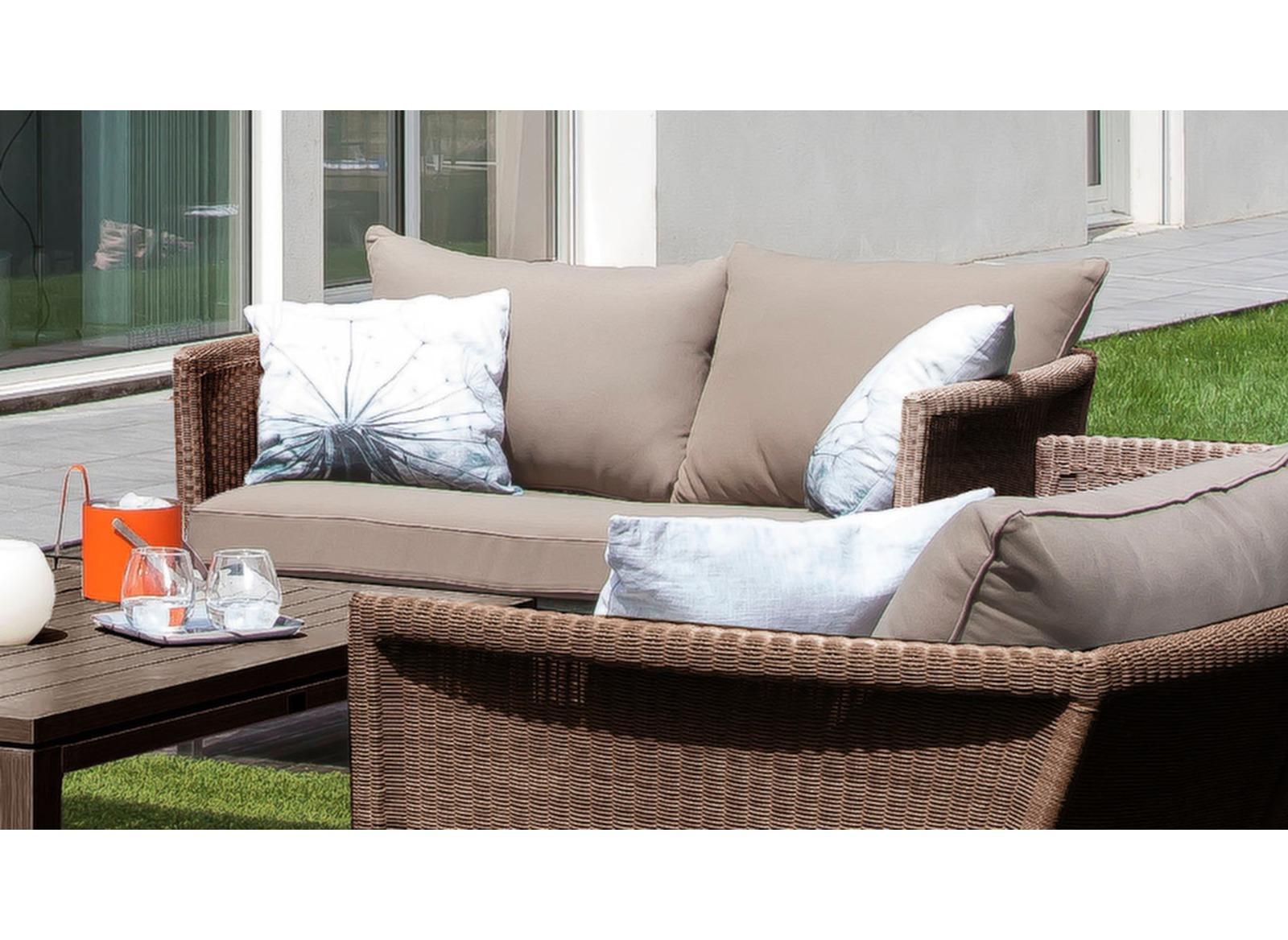 promotions canap de jardin 2 places thyme proloisirs. Black Bedroom Furniture Sets. Home Design Ideas
