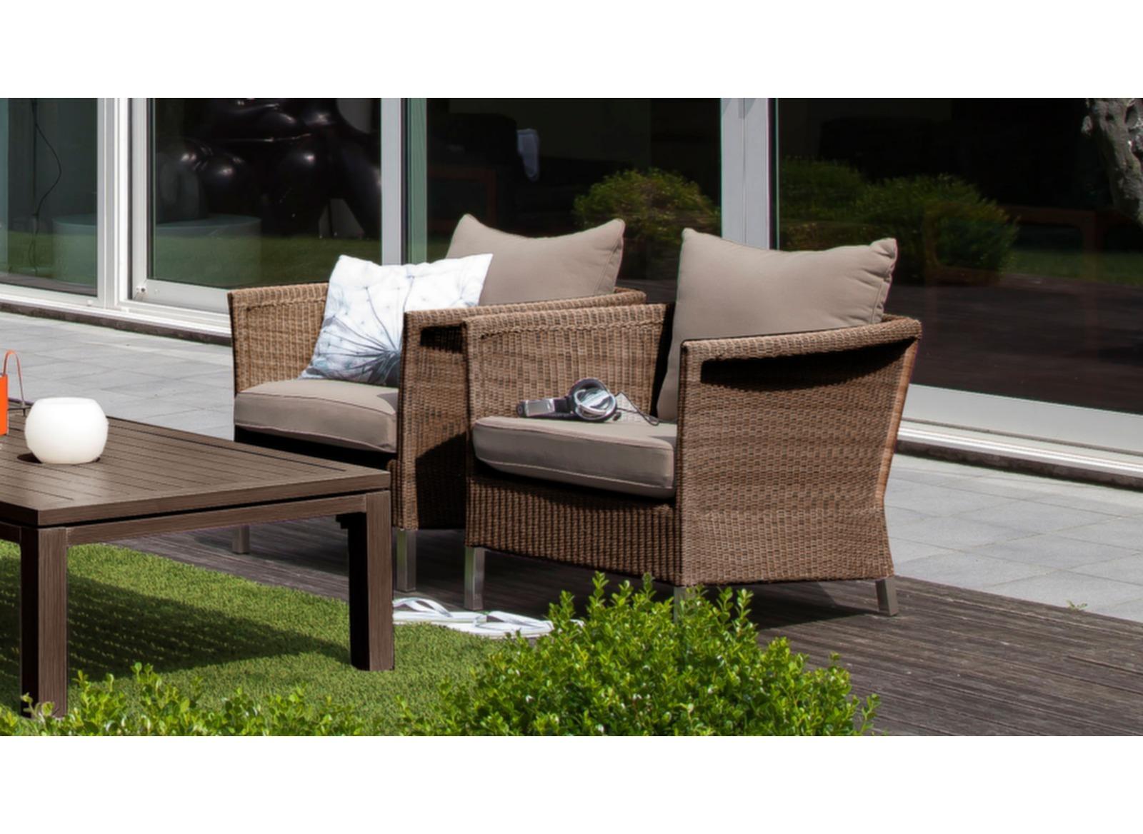 Fauteuil d tente thyme fauteuils de jardin mobilier - Fauteuil detente jardin ...
