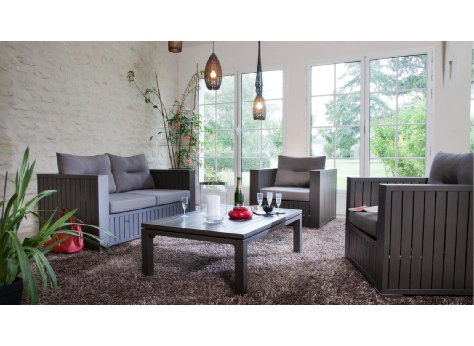 canap ext rieur et int rieur 2pl latino oc o. Black Bedroom Furniture Sets. Home Design Ideas