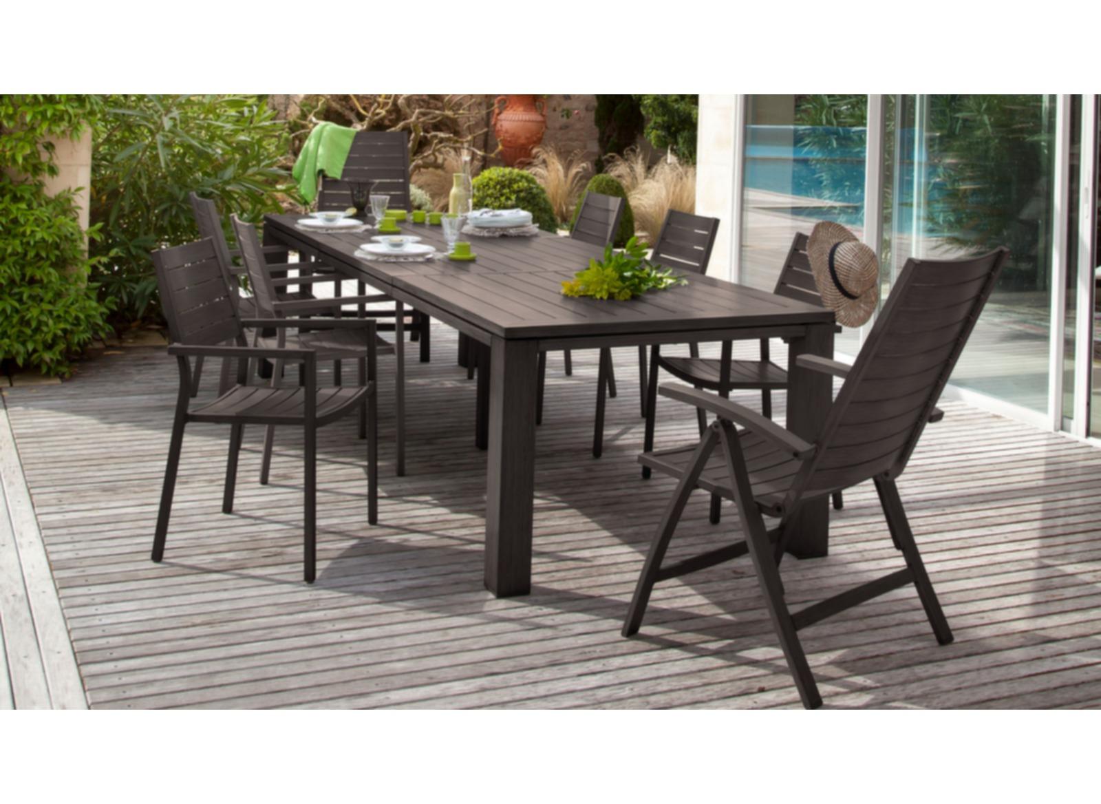 fauteuil de jardin multiposition latino oc o. Black Bedroom Furniture Sets. Home Design Ideas