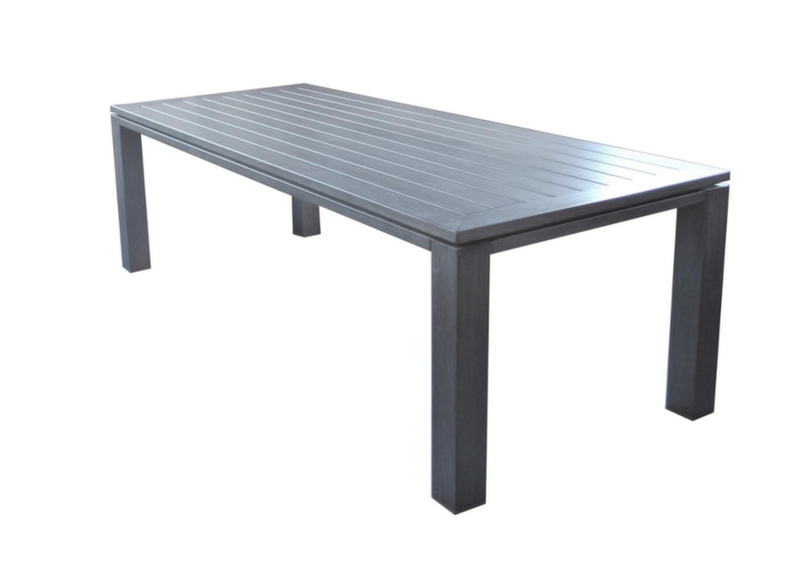 table latino 240 cm mobilier de jardin pour le repas promotions bons plans proloisirs
