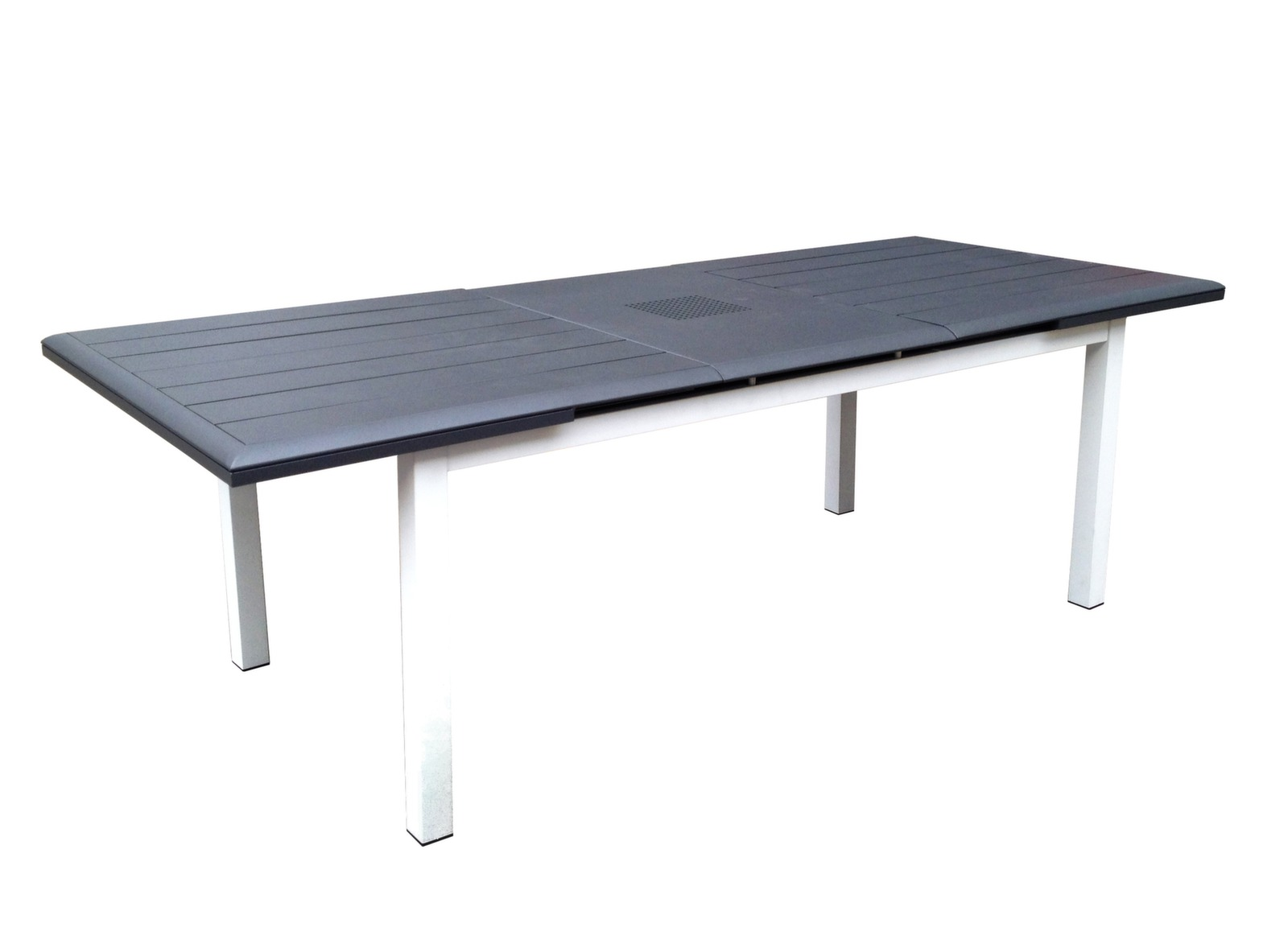 Table louisiane 180 240 blanc grey tables de jardin meubles de jardin en - Cote table vente en ligne ...