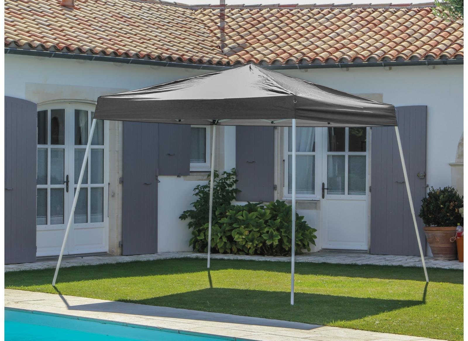 barnum pliant pratique en aluminium 3x3m proloisirs. Black Bedroom Furniture Sets. Home Design Ideas