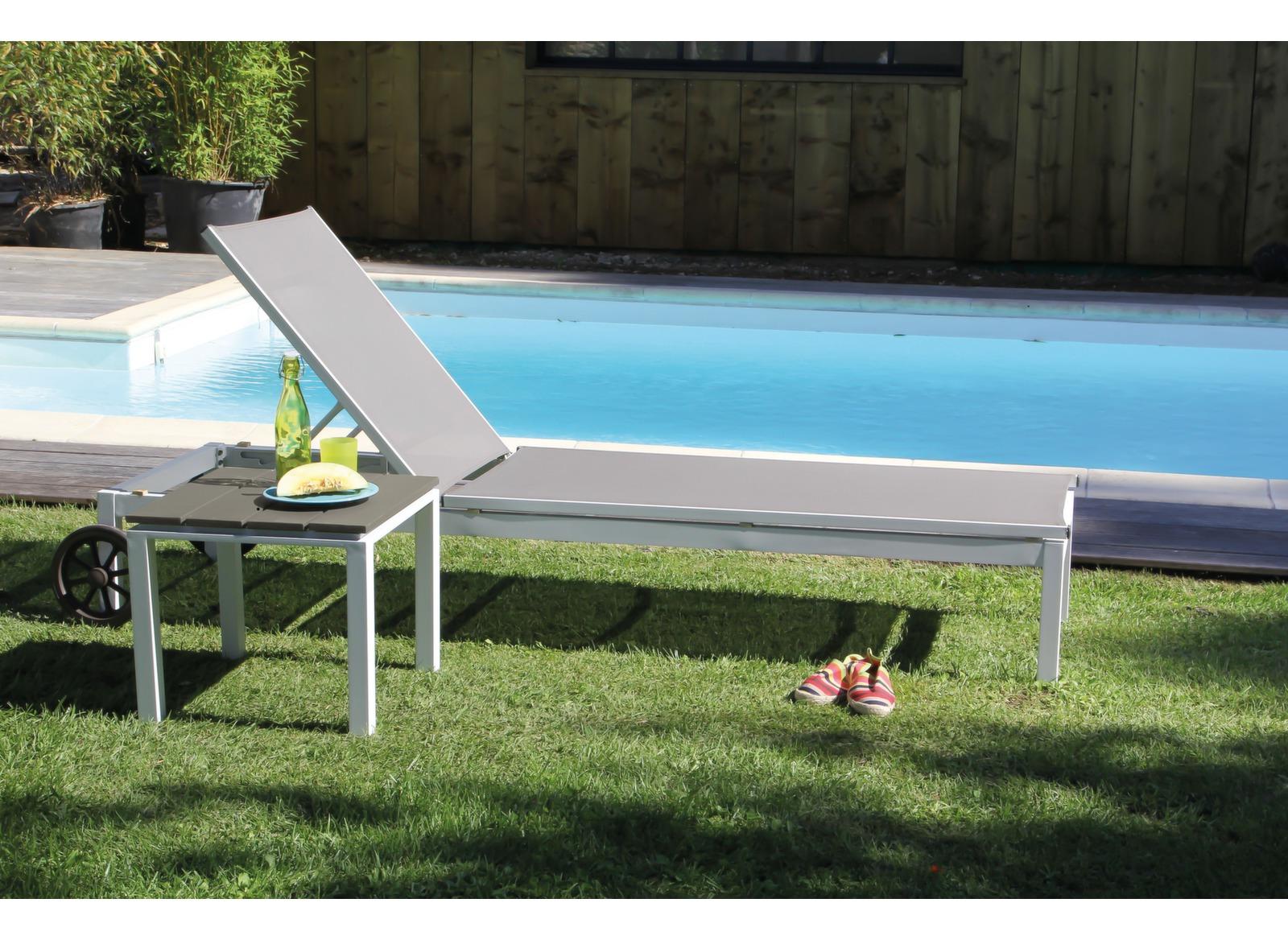 bain de soleil alu et toile textil ne th ma proloisirs. Black Bedroom Furniture Sets. Home Design Ideas