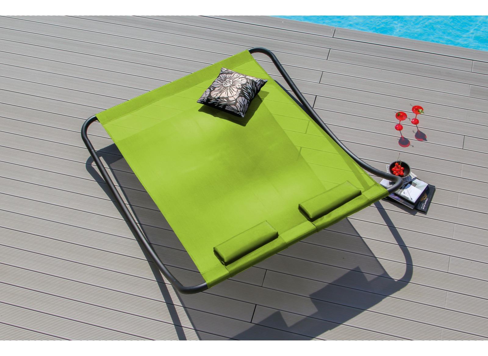 bain de soleil 2 personnes rocking chair proloisirs. Black Bedroom Furniture Sets. Home Design Ideas