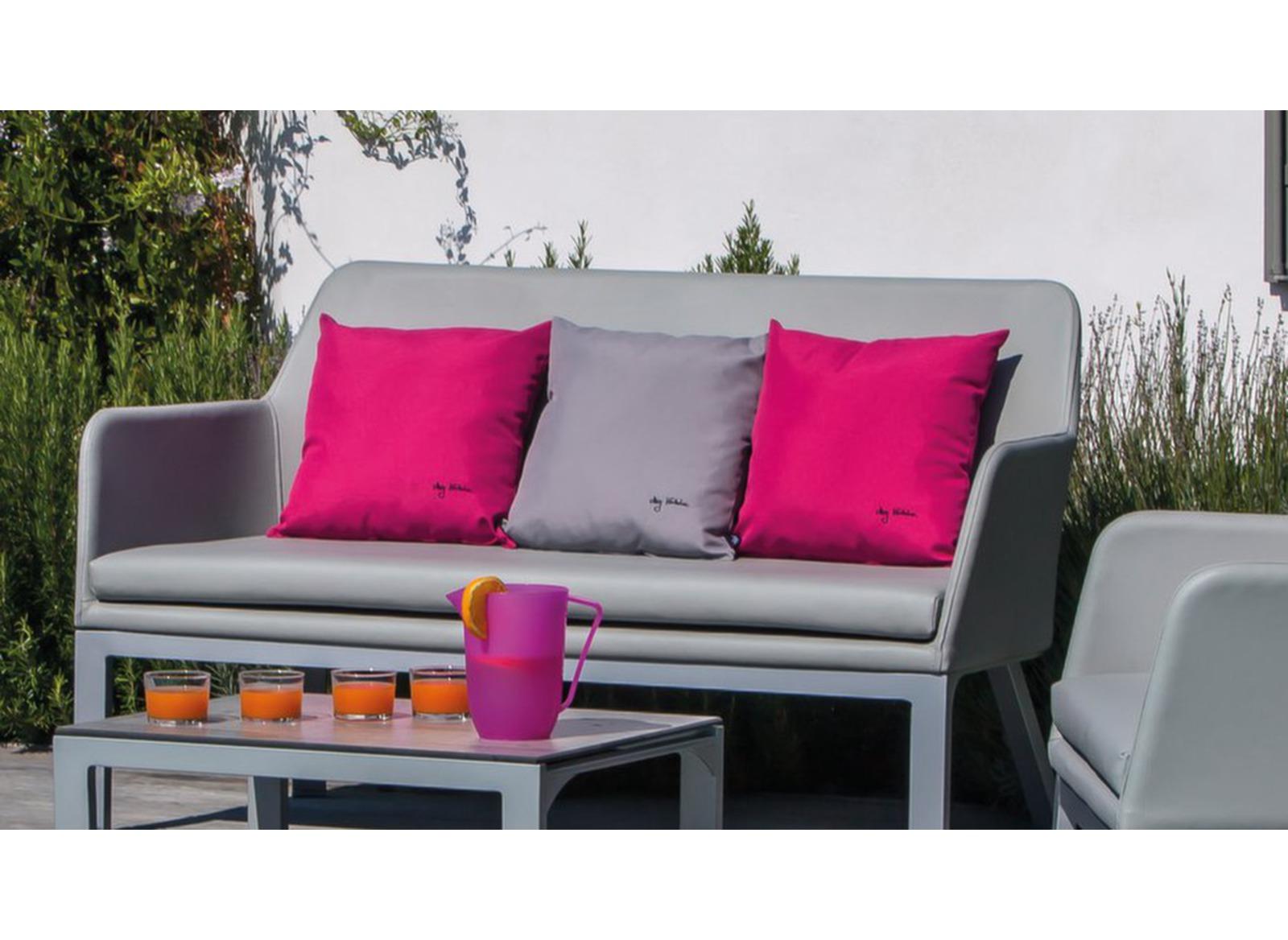 coussin d 39 ext rieur d cor garden 40x40 proloisirs. Black Bedroom Furniture Sets. Home Design Ideas