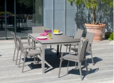 Table Stoneo 180 cm plateau HPL
