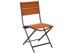 Chaise WIN Café/Paprika