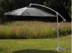 Parasol déporté alu/fibre de verre Ø 350 cm