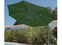 Parasol déporté aluminium Ø 350 cm