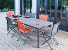 Table Milo 178/238 cm, plateau Trespa®