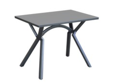 Table Loane pour salon d'angle (finition époxy)