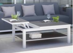Table basse Belle Ile 108 cm avec plateau Trespa®