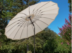 Parasol droit Pagoda Ø 270/18 cm