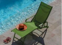 fauteuil relax pliant avec accoudoir