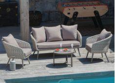 Ensemble Augusta (2 fauteuils + canapé)
