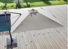Parasol déporté Elios Novasun 3 x 3 m orientable