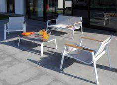 Salon de jardin Lounge Linea - Mobilier salon de jardin ...