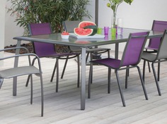 Table Azuro  225 Grey sand