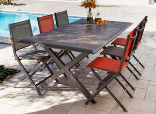 Salons de jardin pour la d tente et pour le repas for Ambiance tables et chaises reims