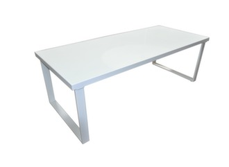 Table Cyclades 220x95, plateau verre