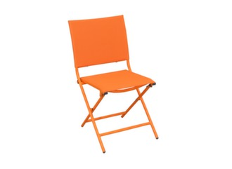 Chaise Globe pliante Orange/orange