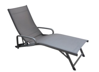 relax pliant fuji avec accoudoirs - Chaise Longue Relax