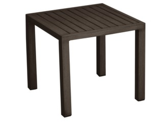 table basse de jardin en alu