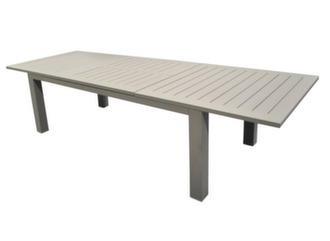 Table Aurore 214/311 cm, finition époxy