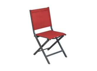 Chaise Thema grey/rouge