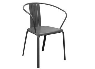 fauteuil Azuro noir pour extérieur