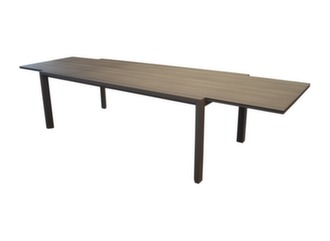 Table Juan 220/340 cm, plateau Trespa®