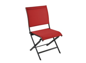 Chaise Elegance grey rouge